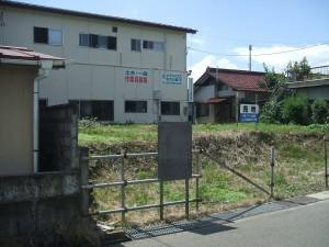 売地・福島市南沢又字古舘39-18