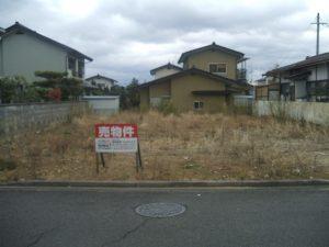 売地・笹谷桜水13-9